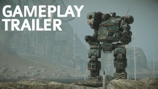 ���� ������� ������� MechWarrior Online - GDC 2012 Gameplay Trailer