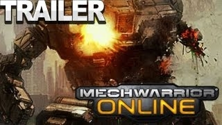 ���� ������� ������� MechWarrior Online - Teaser Trailer