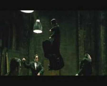Matrix Reloaded - Intro Fight Scene - Three Agents MATRIX 4 FIRST ACTION SCENES