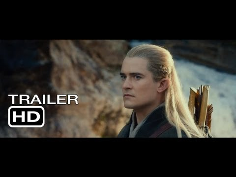 The Hobbit: The Desolation of Smaug - HD Main Trailer - Official Warner Bros. UK the hobbit 2