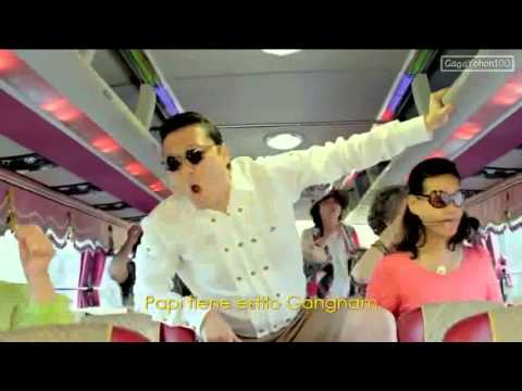 Gangnam Style Official Music Video - 2012 PSY with Oppan Lyrics & MP3 Download музыка мп3 новинки