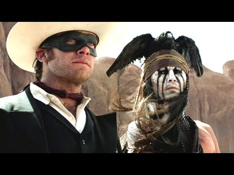 Новинки кино 2013 торрент The Lone Ranger Trailer 2013 Johnny Depp Movie - Official [HD] новинки джони деп